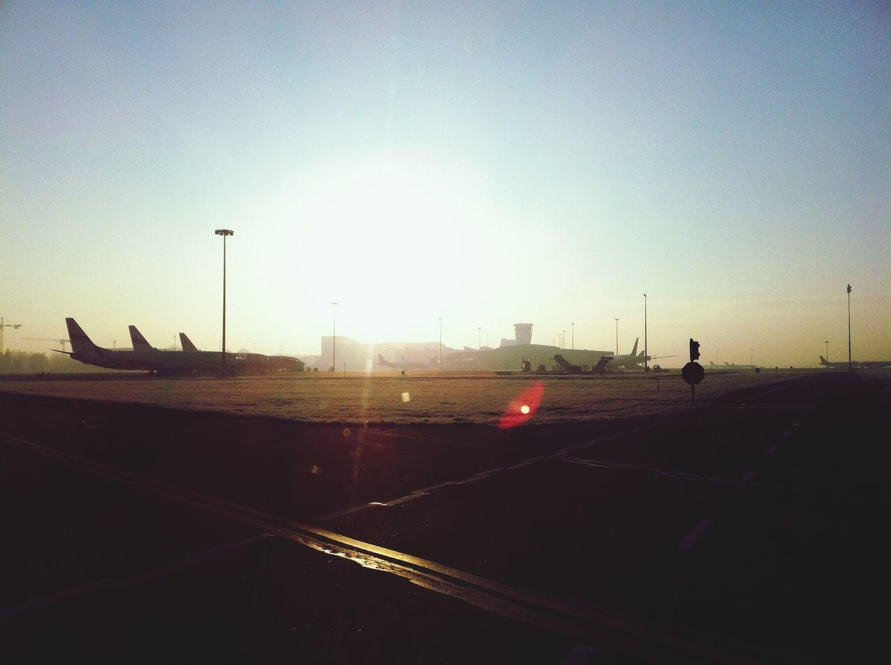 Sunrise Sunshine Airport Waw