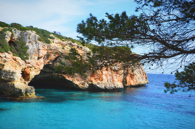 Cala Varques, Mallorca Bay Beach Beauty In Nature Cala Varques Cave Cliff Day Hiking Trail Landscape Mallorca Nature No People Ocean Outdoors Rocks And Water Scenics Sea Sea And Sky Seascape Tranquility Travel Travel Destinations Travel Photography Wanderlust Water