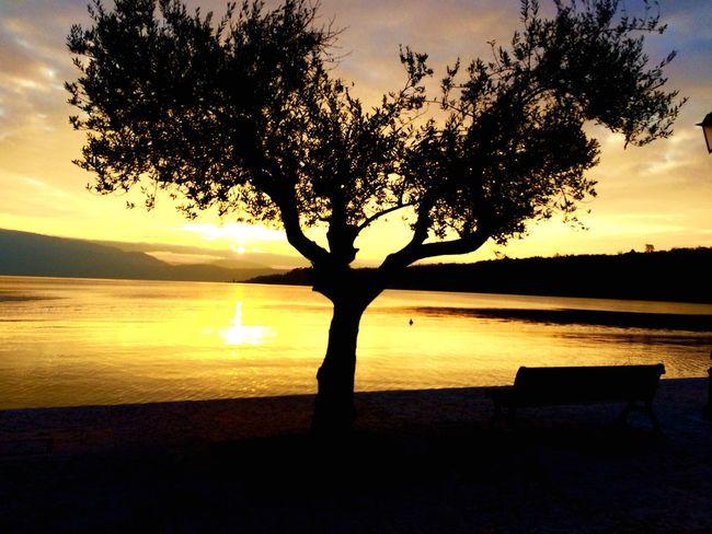 Se un Alba o un tramonto non dà più emozioni significa che l'anima è malata .