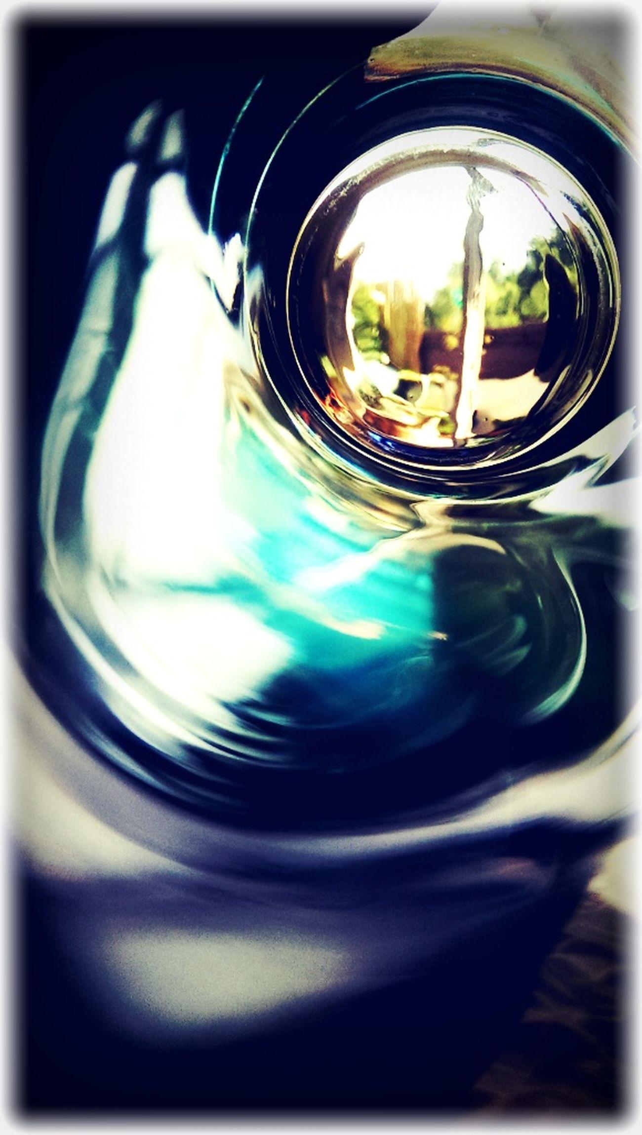 Blick Durch Ein Glas Glas