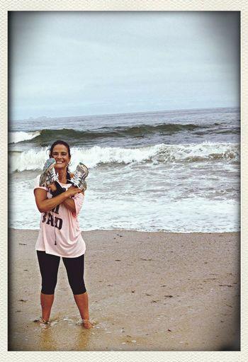 Running day on beach ☀️