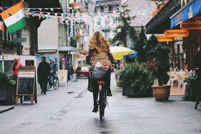 The Tourist Switzerland Indian Food Hello World Hanging Out Tourist Tourism Tourists People EyeEm Best Shots Eye4photography  Traveling Winter Enjoying Life Woman Street Photography Street Streetphotography Bicycle Ride Riding Bike Bicycling Bicycle Trip