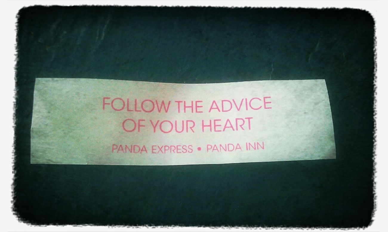 Advice From Pandas