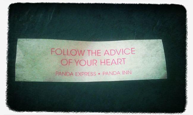 Advice From Pandas