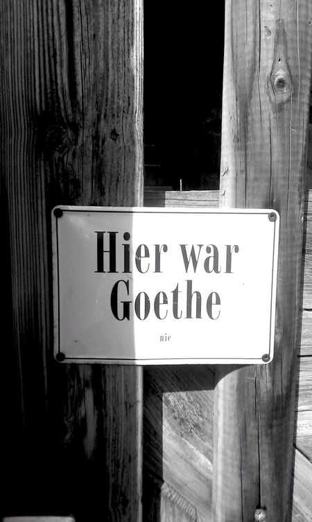 Goethe Signs Sign Streetphotography Street Streetphoto_bw Rudolstadt Germany Thuringia Travel
