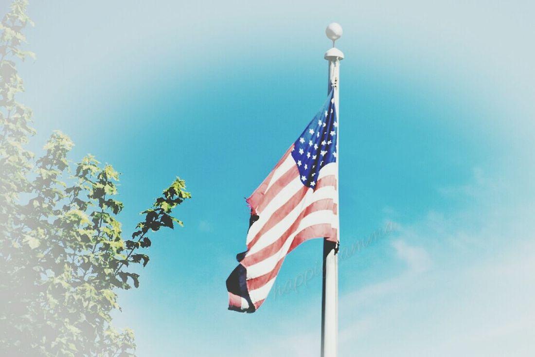 Thesmallestlittlethings Happigramma Oldglory USA America American Flag Godblessamerica