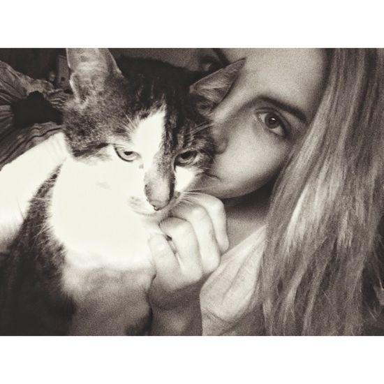 Me and my Baby ❤️ Lovemycat Cat♡ Enjoying Life Girl Taking Photos Follow Me ♥