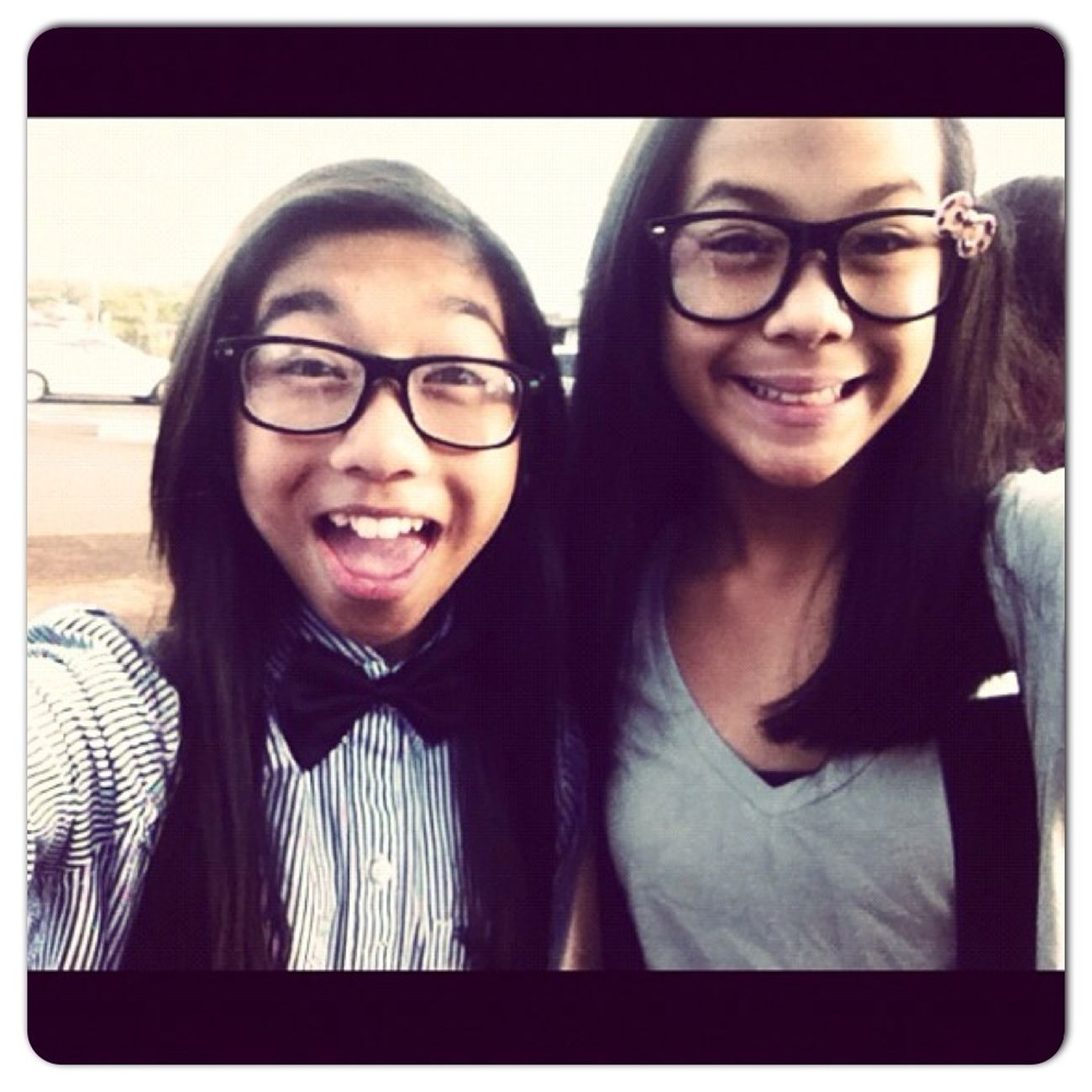 One of my favorite pictures i ever took :) geek day at school