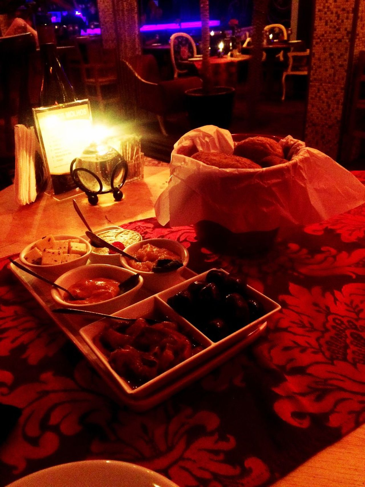 Romantic dinner Close-up No People Food And Drink Freshness Food Indoors  Illuminated Night Flower Ready-to-eat Serving Size Romantic Place Romantic Plate Darkness And Light Dinner For Two