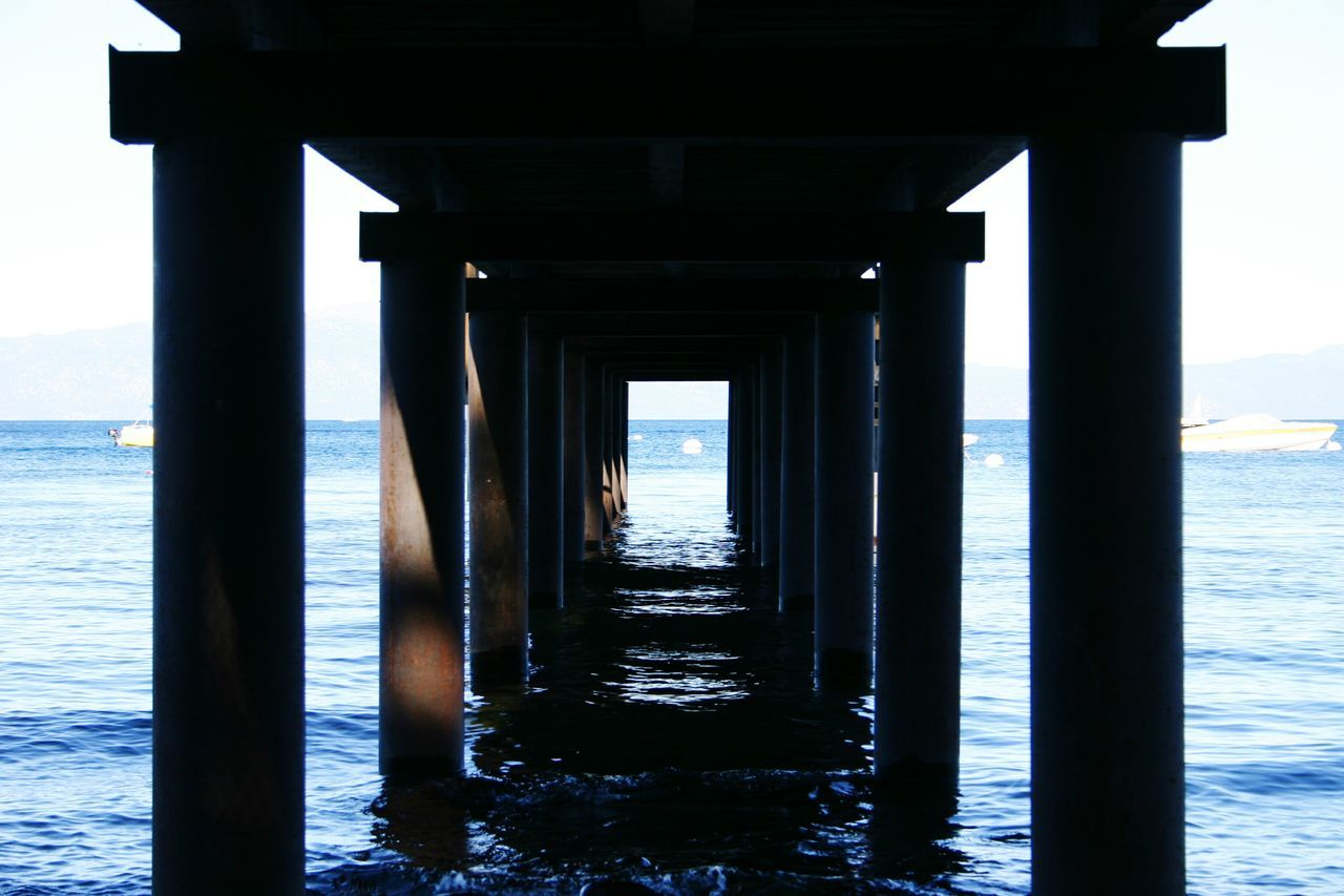 Learn & Shoot: Simplicity Pier Lake Tahoe Pillons Under The Pier Skyland Lake Outdoors Boats Beach Blue Wave