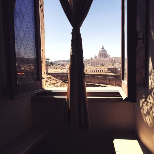 Window Nice Views Vatican