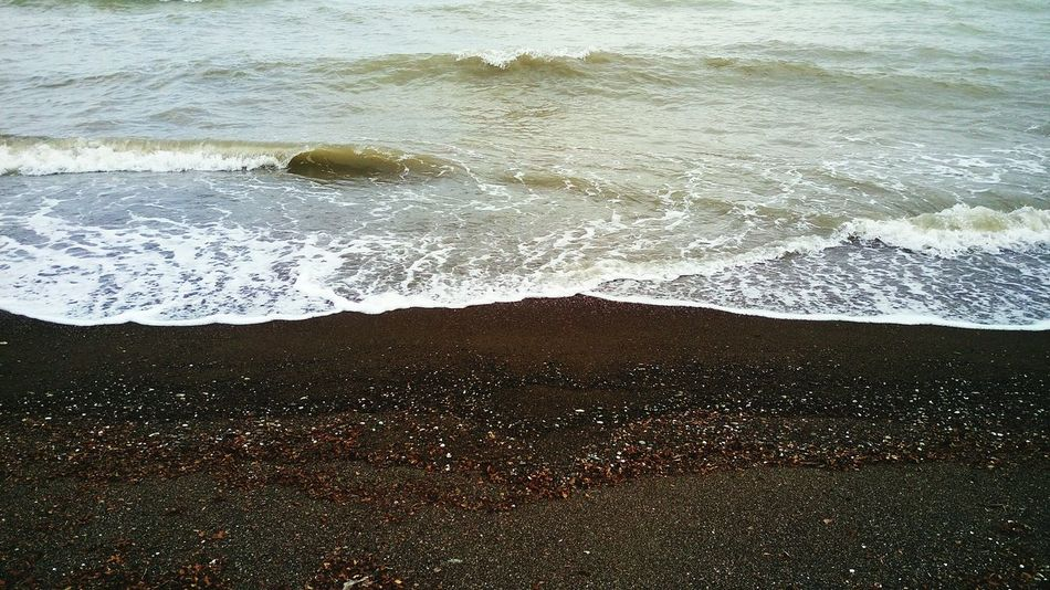 Seawave is concordant with me on earth ...in Otar Lisar Talesh Gilan Iran... Seawaves Water Caspian Sea Caspian Sea Waves Beauty Nature Iran♥ Talesh🙋 Lisar🙋