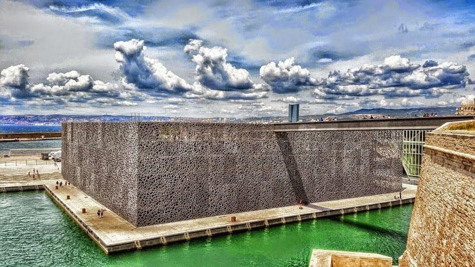 Marseille :: MUCEM And Fort St-Jean, Marseille :: Photographs Architecture