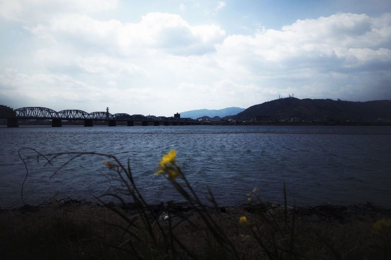 吉野川と眉山 Landscape 徳島県