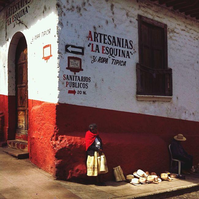 Yomochilero en Pátzcuaro, Mexico