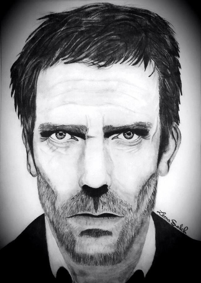 Hughlaurie Hugh Laurie Drhouse Dr House Gregoryhouse Housemd House MD Famous Actor Famous Character char Actor♡ White Sketch Sketching ☺ Pencil Drawing My Art Work Pencil Sketch  Sketch Black&white Portrait Art, Drawing, Creativity Eyeem Art Sanat Art Gallery Face Portrait Photography Portrait Of A Man  Love Drawing ❤