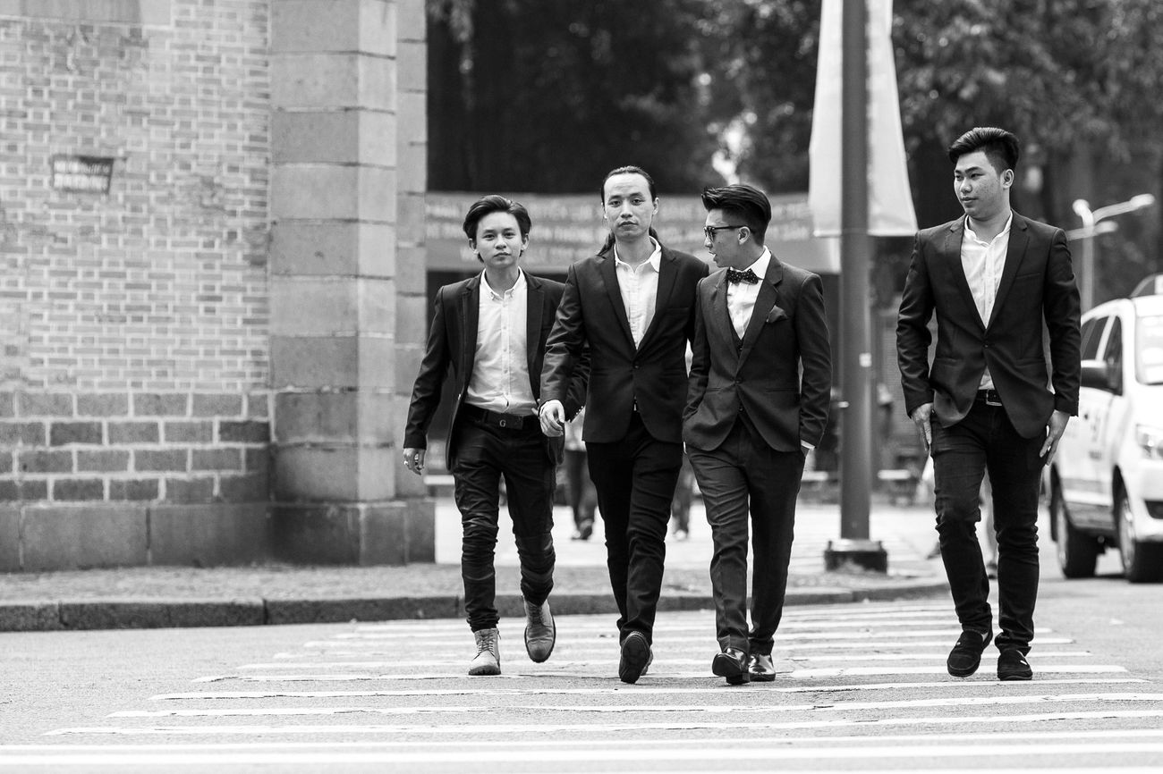 Groom Popular Photos Blackandwhite People Married Taking Photos Vietnam Wedding Photography EyeEm Best Shots Koolstudio EyeEmBestPics Man Canon Nhathoducba