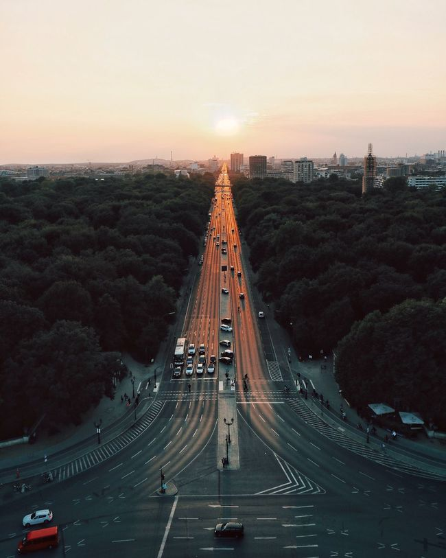 People And Places High Angle View Sunset Eye4photography  EyeEm Best Shots EyeEm Deutschland Urban Landscape Battle Of The Cities City Life