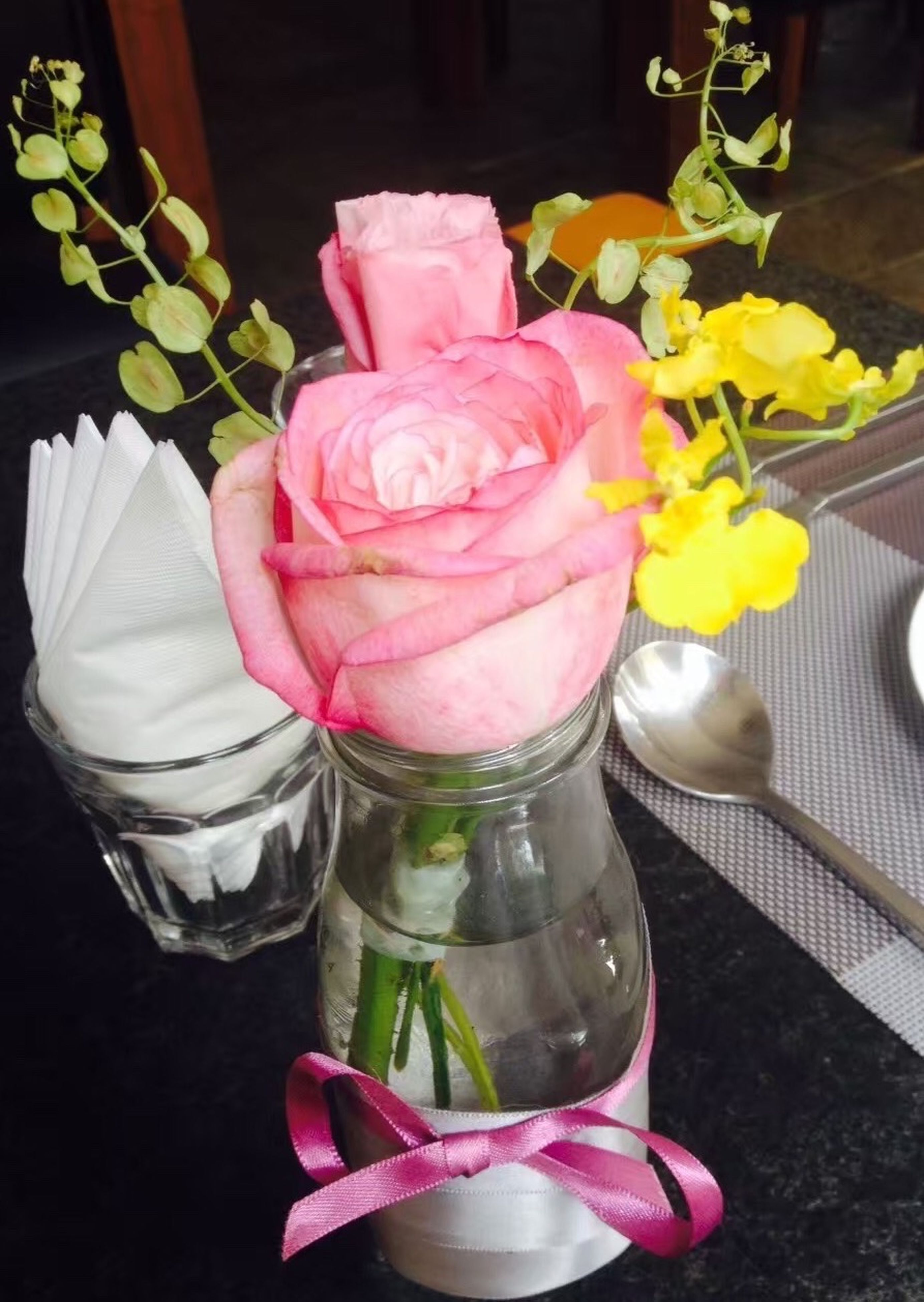 freshness, flower, close-up, indoors, still life, rose - flower, table, fragility, variation, multi colored, unhealthy eating, petal, bouquet, arrangement, flower arrangement, flower head, bunch of flowers, no people, large group of objects, temptation, indulgence