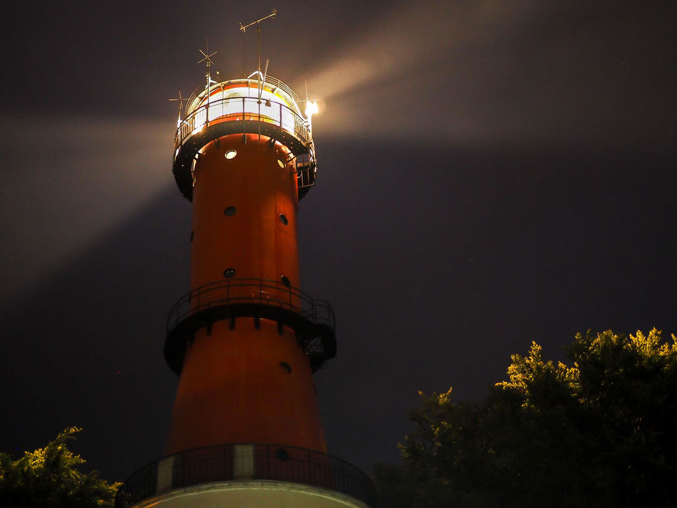 Lighthouse at nioght Architecture Light At Night Lighthouse Night No People Outdoors Tower First Eyeem Photo