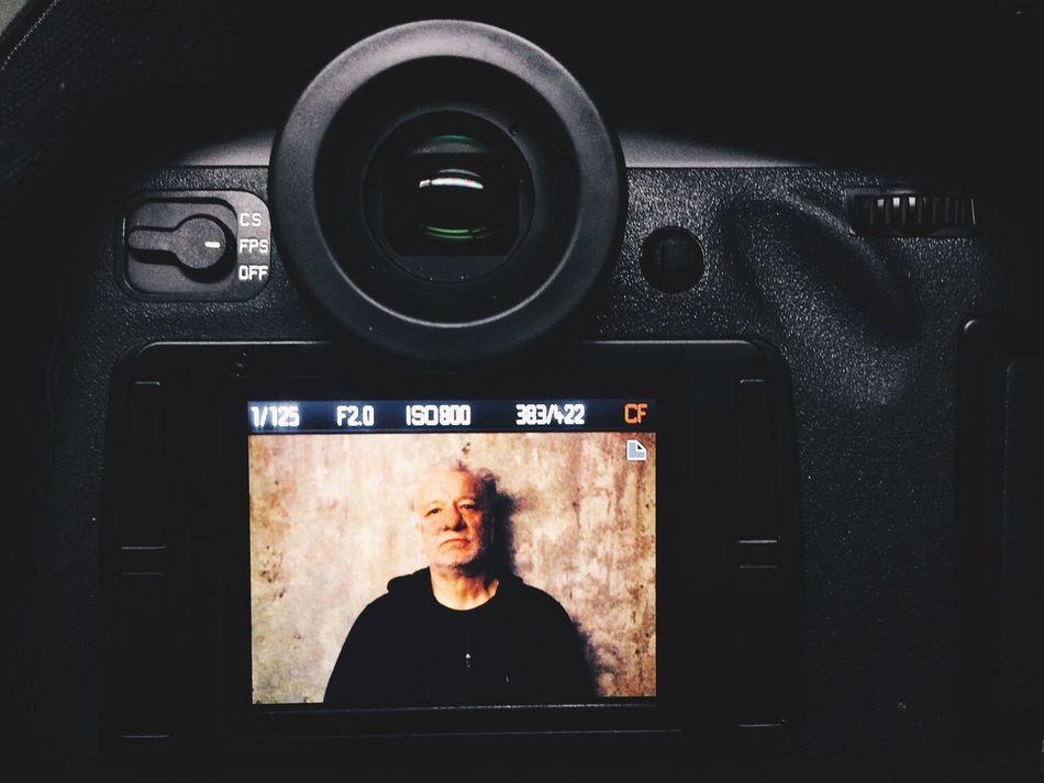 Mufti ex- Einsturzende Neubauten  at Kraftwerk Berlin Berliner Festspiele Leica-S Portrait