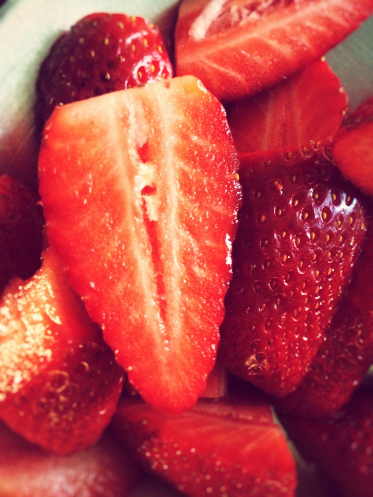 Strawberry Strawberries Fruit Food Summer Food