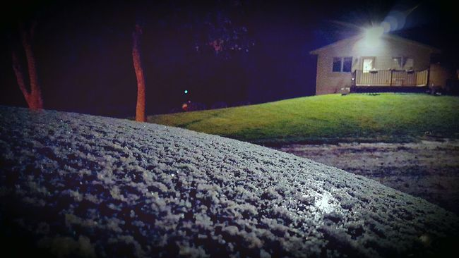 First Snow Of The Season The Great Outdoors At My House Outdoors First Snow Coldoutside Here Comes Winter