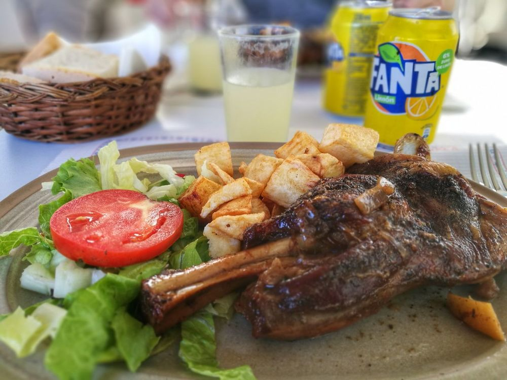 Es Verger Lamb Lunch Mallorca SPAIN Alaro Close-up Day Delicious Food Food And Drink Freshness Healthy Eating Indoors  Lamm Meat No People Plate Ready-to-eat