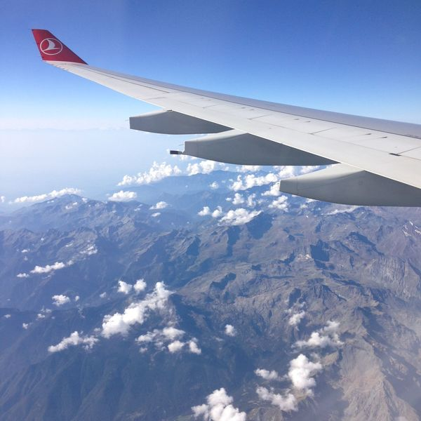 Turkishairlines Widen Your World Fly Montblanc Montagne Paysage