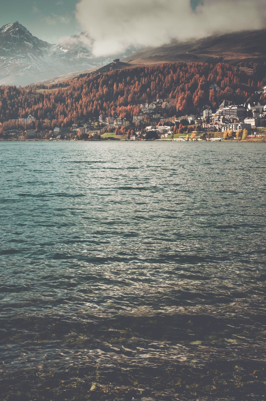 no people, sky, nature, outdoors, beauty in nature, scenics, sea, water, mountain, day