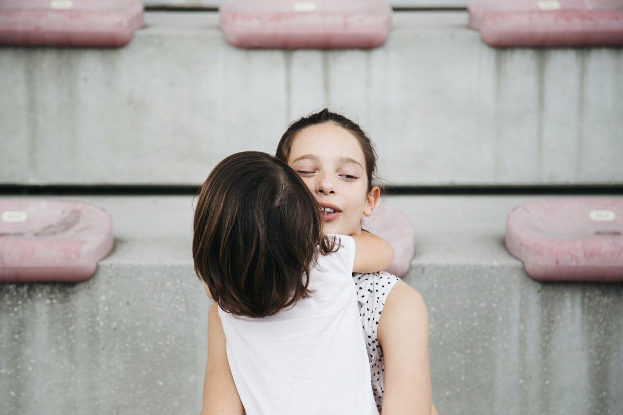 Hug me togetherness childhood real people casual clothing focus on foreground leisure activity girls lifestyles family with one child daughter Love bonding day Fun Happiness outdoors Standing child women smiling eye4photography EyeEm gallery picoftheday The Portraitist - 2017 EyeEm Awards