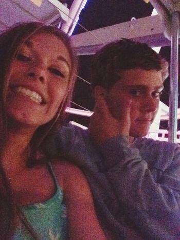 lol my handsome and I on the ferris wheel last summer Boyfriend - ILoveYou.♡ Summer TBT