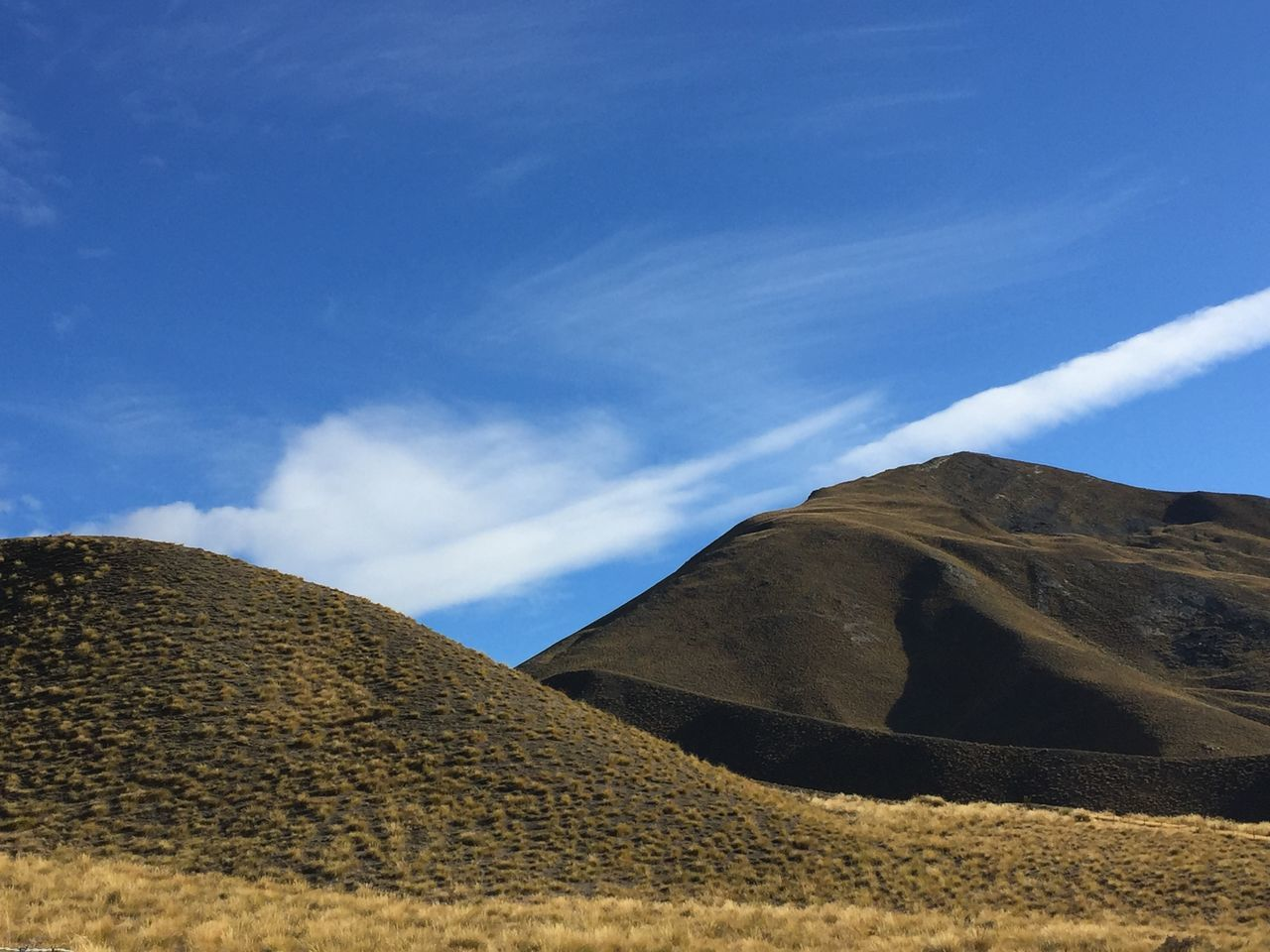 New Zealand Scenery Hill Country Blue Sky