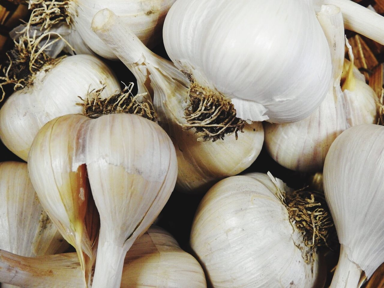 Food Food And Drink Healthy Eating Freshness Garlic Garlic Bulb No People Close-up Backgrounds Indoors  Garlic Clove Day