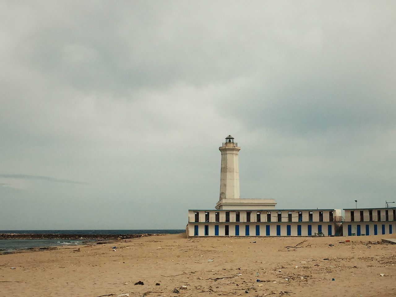 Beautiful stock photos of lighthouse, Architecture, Beach, Built Structure, Calm