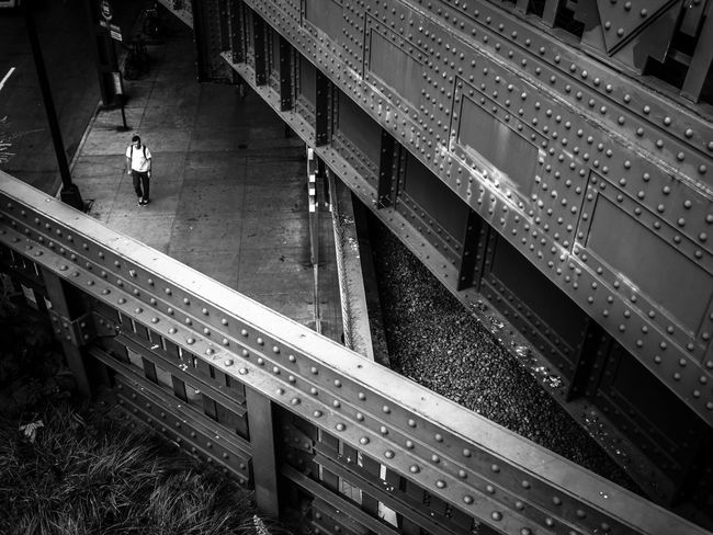 Triangulation Architecture Bridges City City Life High Line Park Metal Outdoors Street Photography