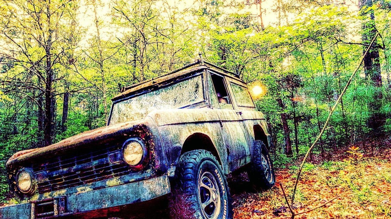 Treasured Trash (no offense cuz!!) Oldcars My Backyard In The Woods Artphotography Art. Creative Shots Colorful Editjunky