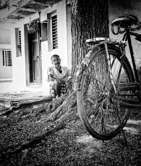 Rural Scenes Black And White Photography RusticWays Eyeem In Sira. Taking Photos Smile :) Incredible India