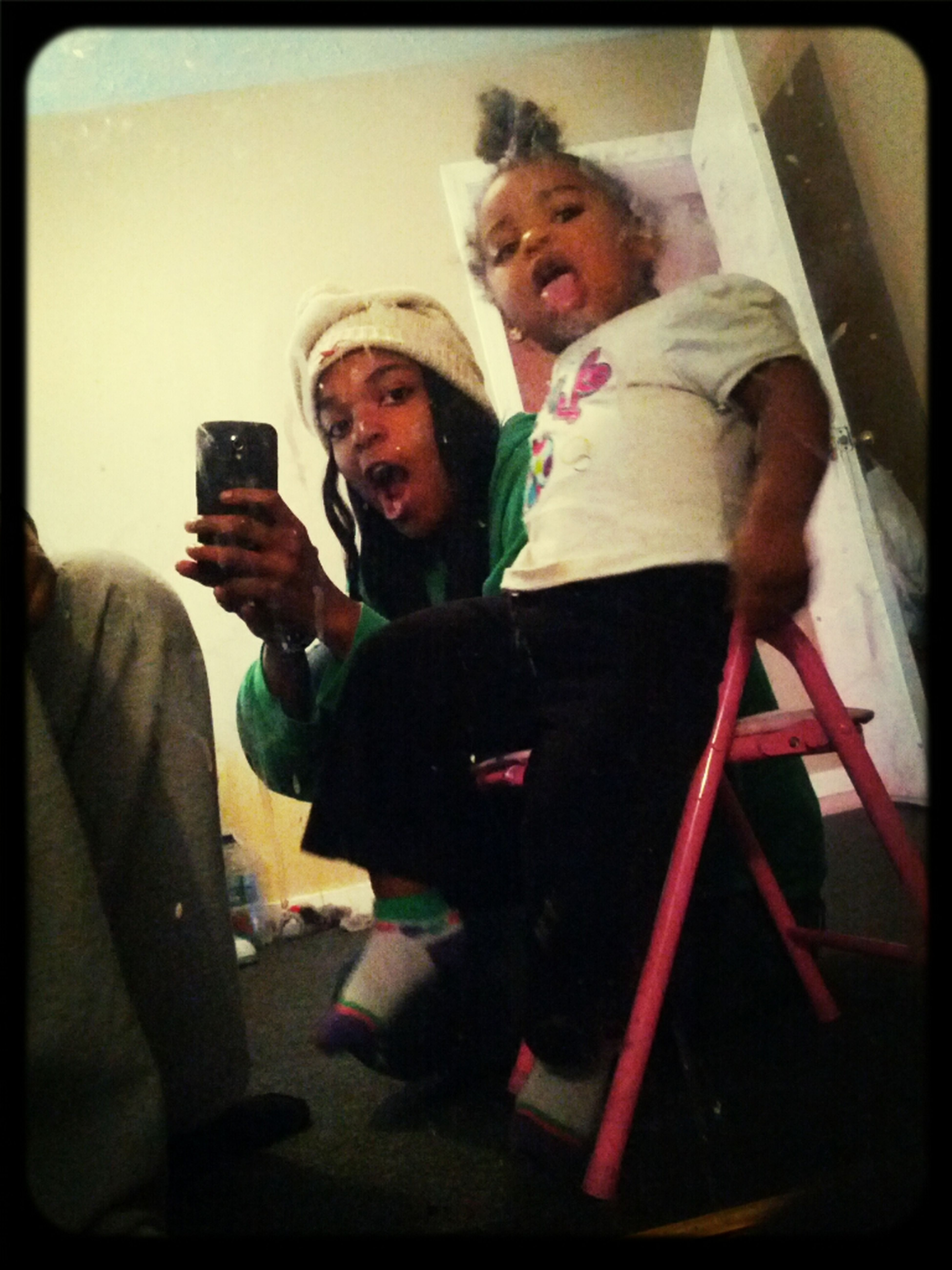 - Nae And Mommy , Excuse My Mirror