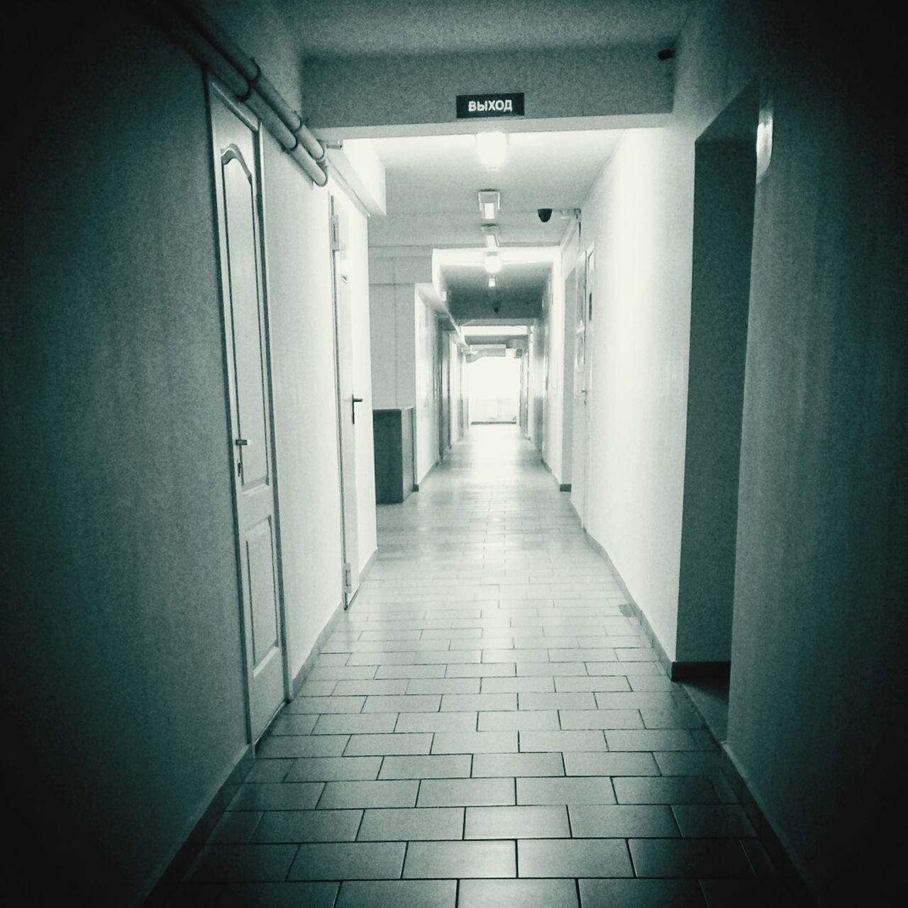 Empty Corridor Indoors  The Way Forward No People Architecture EyeEm Gallery