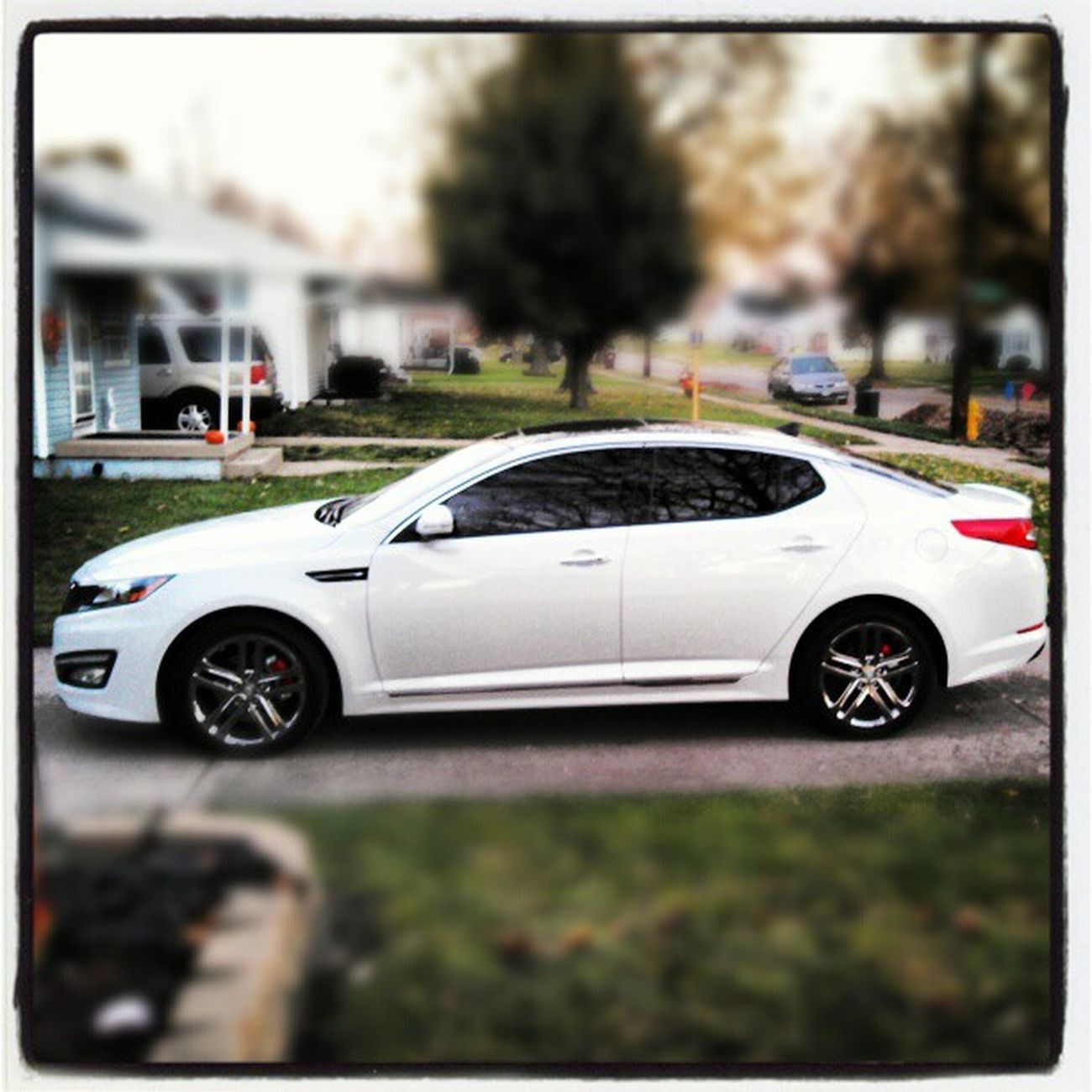 Got my windows tinted... Windowtint Tintguy Kia Optima kiaoptimasxl hamiltonohio