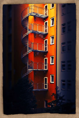 street in Berlin by buerger-jott