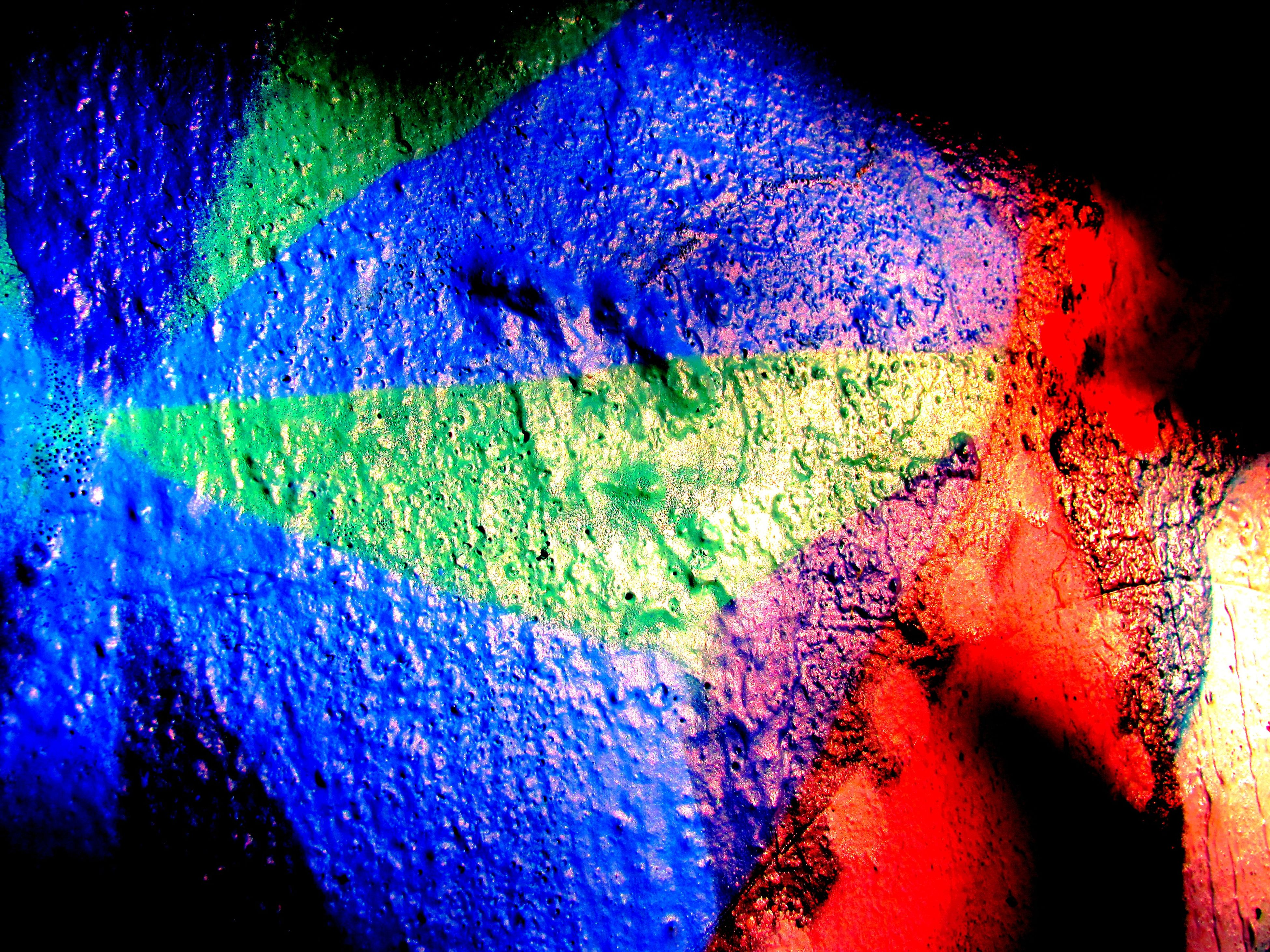 multi colored, vibrant color, abstract, vitality, blue, green color, close-up, red, no people, outdoors, day