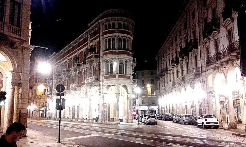 TurinNight Song Drifting Away Architecture Outdoors Illuminated City Night Running Away Italy_photolovers