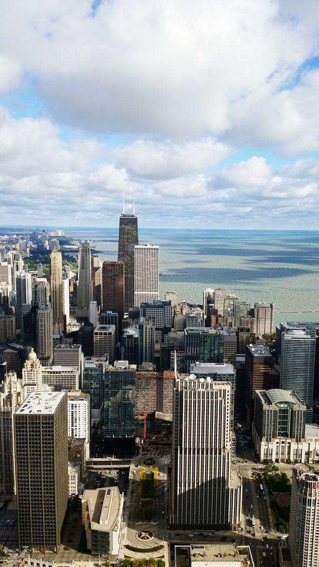 Chicago Skyline Chicago Highinthesky First Eyeem Photo