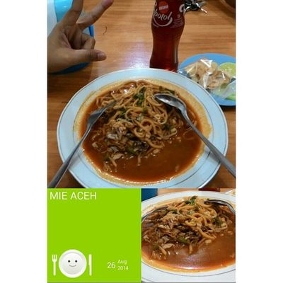 Dinner MieAceh Yummy Spicy Noodle Tasteofindonesia Indonesianfood Instanusantara