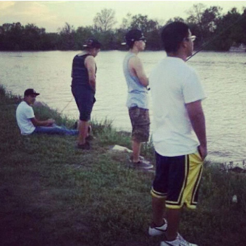 Old pic...best memory... Freddy Playa Randy LakeNasworthy