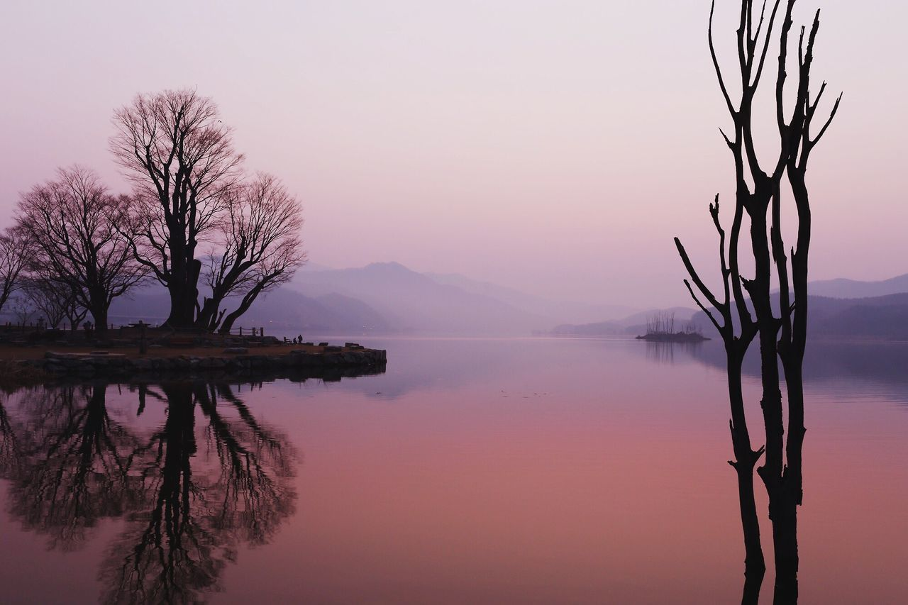 just before sunrise Dumulmeory Korea