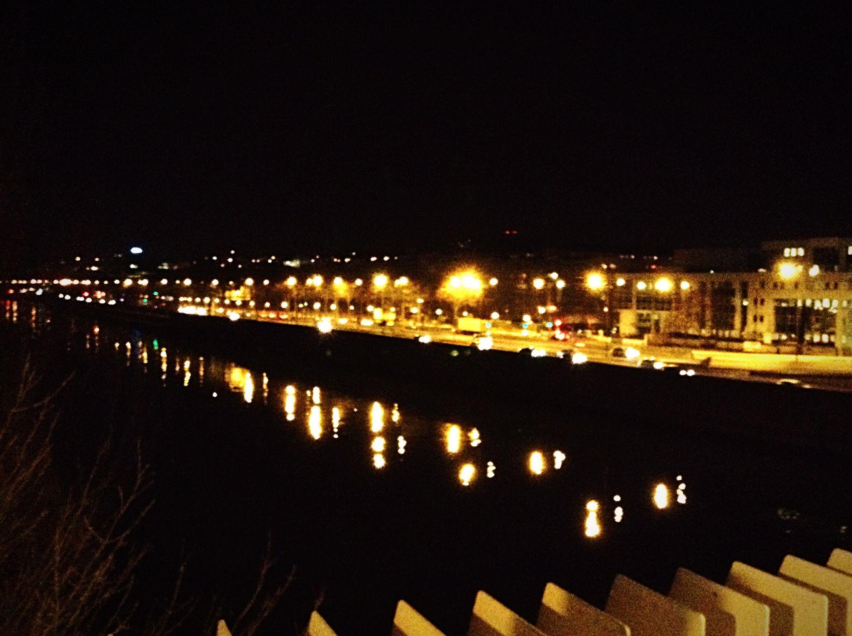 Puteaux Night Lights Night Paris Aalo