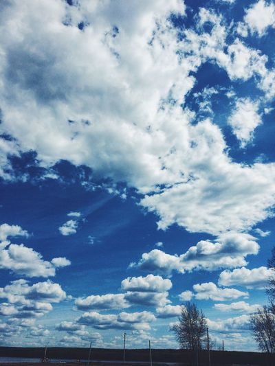 Sky Cloud Blue Day Nature